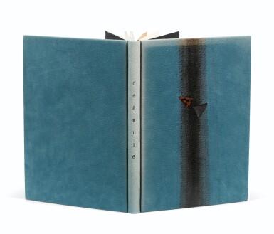 View 2. Thumbnail of Lot 91. BRETON, André. Océanie. 1948. Catalogue d'expo. Reliure maroquin bleu d'Annick Vatant.