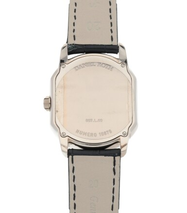 View 4. Thumbnail of Lot 657. REF 807.L60  WHITE GOLD WRISTWATCH WITH DATE CIRCA 2005.