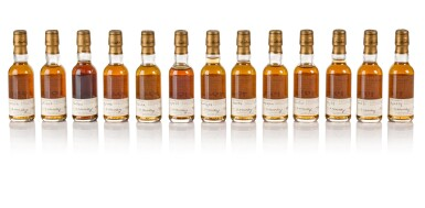 View 3. Thumbnail of Lot 20. The Macallan Fine & Rare Miniature Collection (38 bt).