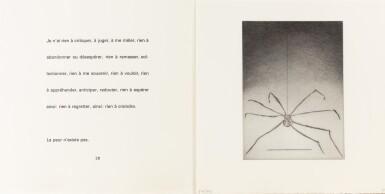 View 4. Thumbnail of Lot 139. Ode à ma mère. Éditions du Solstice, 1995. Ex. signé et numéroté, 9 pointes-sèches monogrammées.