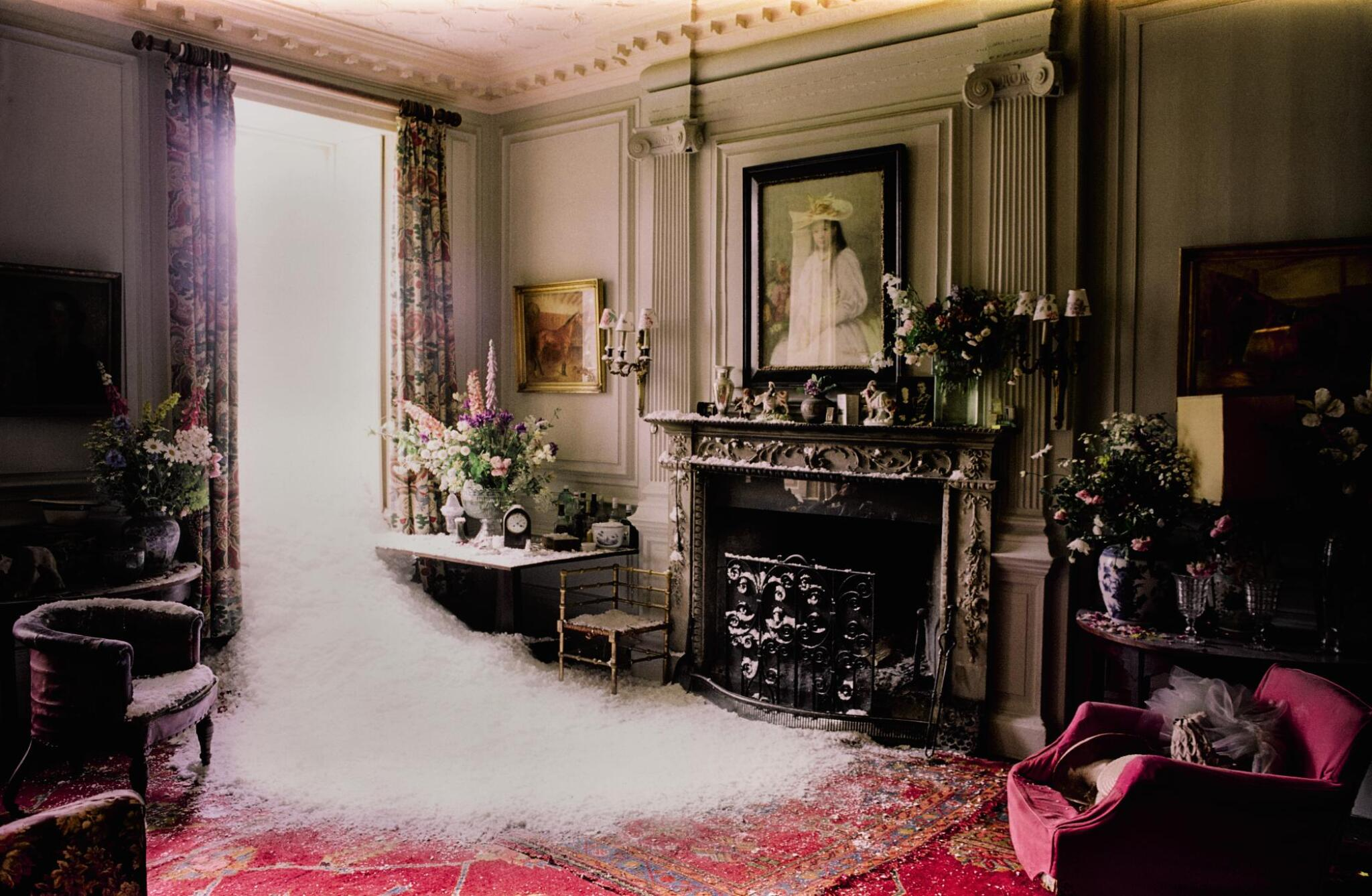 View full screen - View 1 of Lot 98. TIM WALKER | 'SNOW IN SUMMER', EGLINGHAM HALL, NORTHUMBERLAND, 2000.