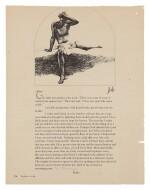 MARC CHAGALL   JOB IN DESPAIR (M. 254)