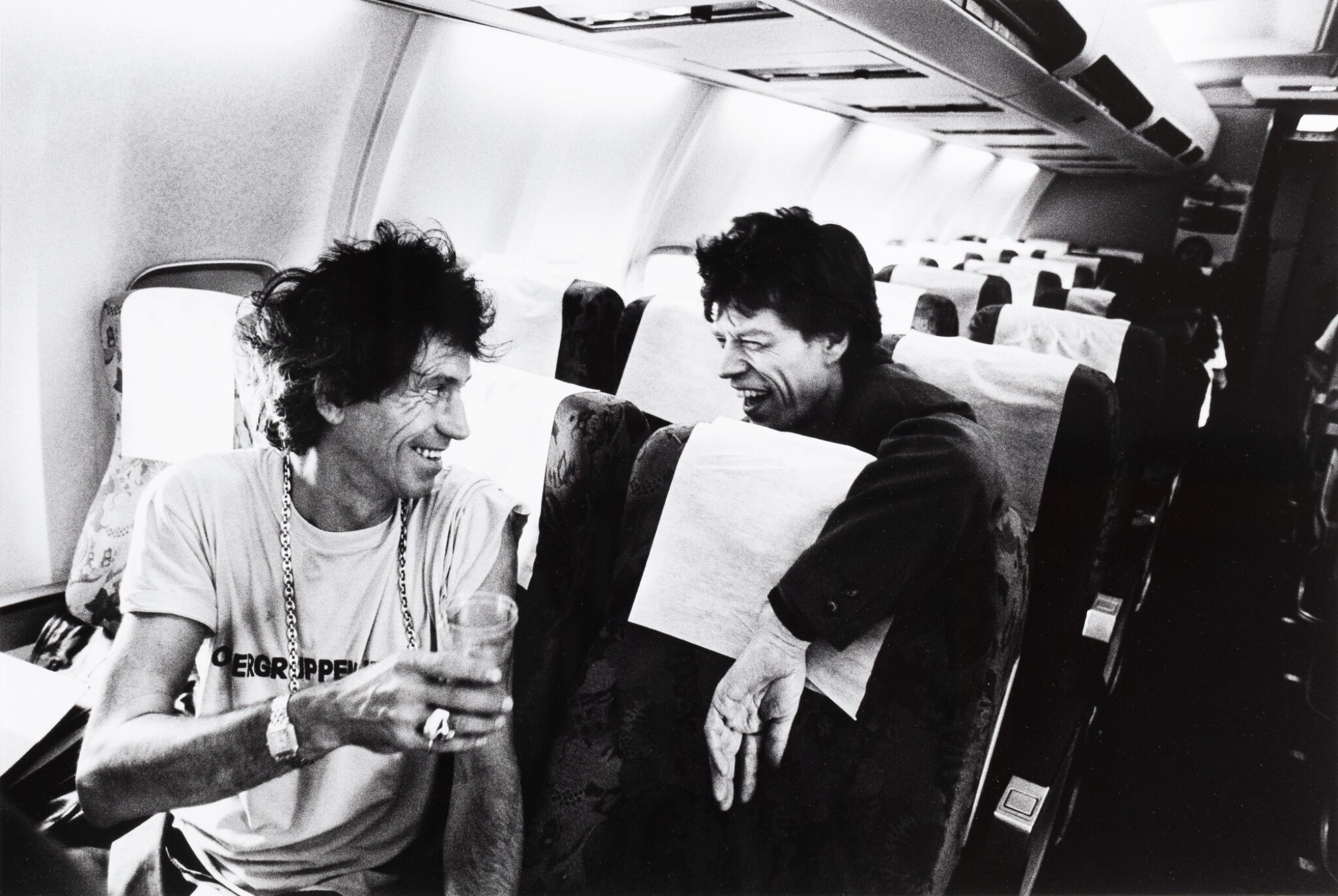 View full screen - View 1 of Lot 75. Keith Richards, Mick Jagger - Madrid - Marseille 1990.