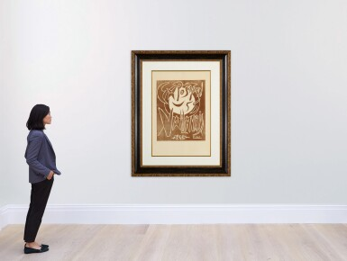 View 4. Thumbnail of Lot 3. PABLO PICASSO | EXPOSITION 55 VALLAURIS (B. 1268; BA. 1032).