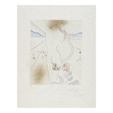 View 11. Thumbnail of Lot 93. SALVADOR DALÍ   THE HIPPIES (MICHLER & LÖPSINGER 377-387; FIELD 69-13).