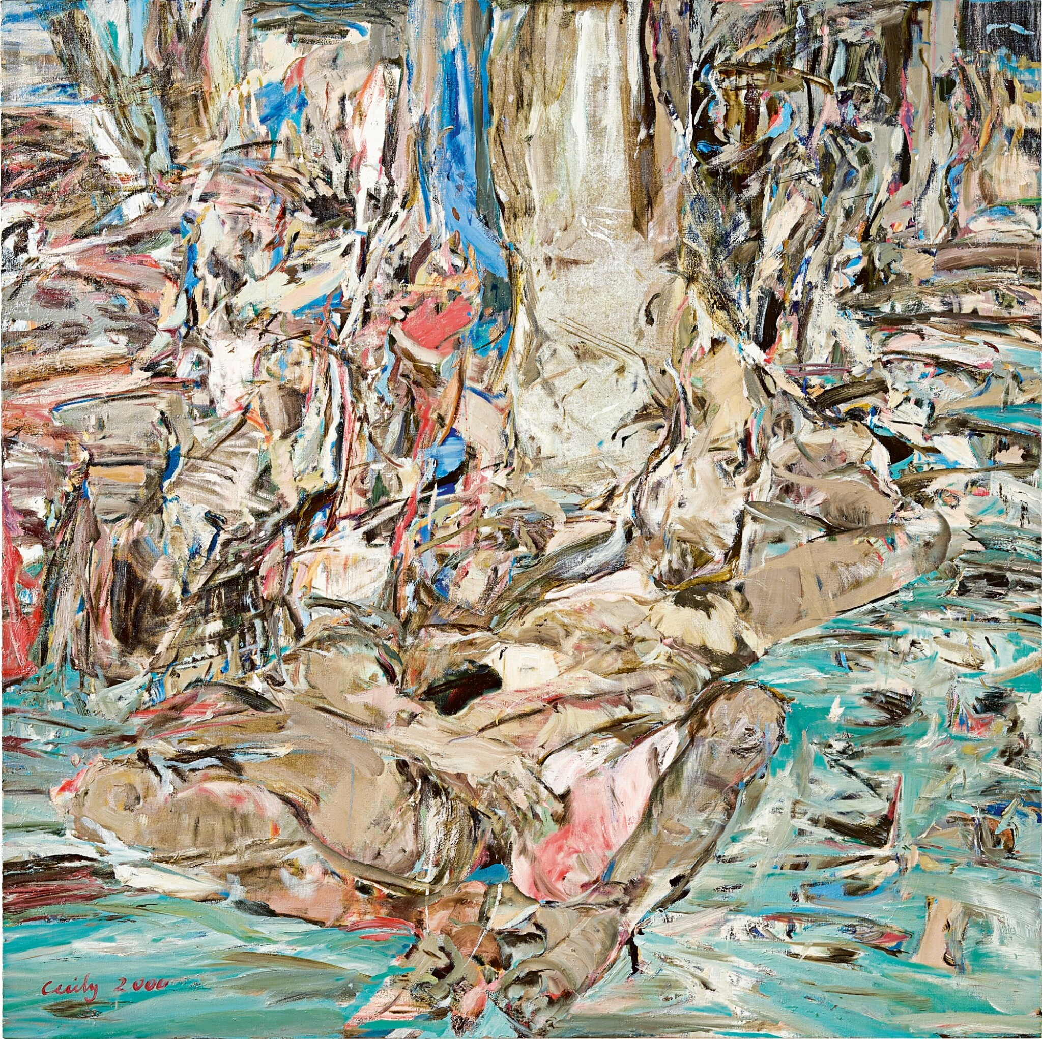 View full screen - View 1 of Lot 1126. Cecily Brown 塞西麗・布朗 | Summerstorm 夏日風暴.