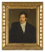 ALBERT GREGORIUS | PORTRAIT OF A GENTLEMAN, HALF LENGTH