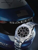 ROLEX | REFERENCE 116520 DAYTONA   A STAINLESS STEEL AUTOMATIC CHRONOGRAPH WRISTWATCH WITH REGISTERS AND BRACELET, AWARDED TO THE GRANDE AMERICAN SPORTS CAR SERIES GTS CHAMPION CHRIS BINGHAM IN 2001