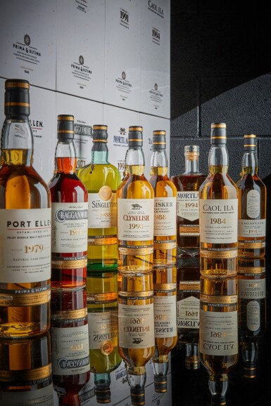 View 1. Thumbnail of Lot 1. The Prima & Ultima Collection, First Release, Set #1 + Exclusive Experience (8 bts 70cl, 8bt 2cl) **Price Excluding VAT**.