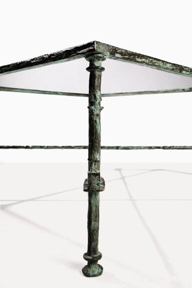 View 5. Thumbnail of Lot 87. Table aux cariatides et atlantes.