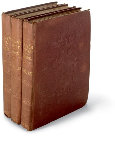 Dickens, Oliver Twist, 1838, first edition, first issue