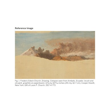 View 3. Thumbnail of Lot 36. FREDERIC EDWIN CHURCH | SOUTH AMERICAN LANDSCAPE.