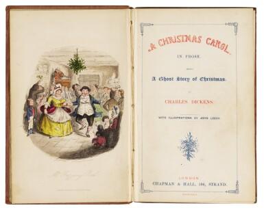 View 2. Thumbnail of Lot 88. Dickens, A Christmas Carol, 1843.