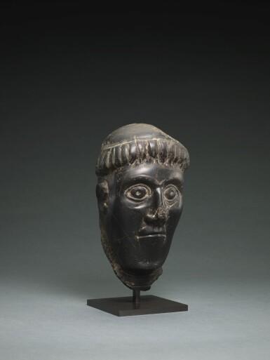 View 4. Thumbnail of Lot 6. IRISH, CIRCA 11TH CENTURY | HEAD OF A BISHOP SAINT.