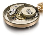 ALBERT H. POTTER & CO., GENEVA   [Albert H. Potter & Co.,日內瓦] | AN IMPORTANT AND POSSIBLY UNIQUE GOLD OPEN-FACED KEYLESS WATCH WITH UNUSUAL LEVER ESCAPEMENT AND SINGLE RUBY-TOOTH ESCAPE WHEEL, AND REGULATOR DIAL  CIRCA 1887, NO. 1   [罕有黃金懷錶備罕有槓桿式擒縱系統、紅寶石單鉤擒縱齒輪及三針一線錶盤,年份約1887,編號1,可能為孤例]