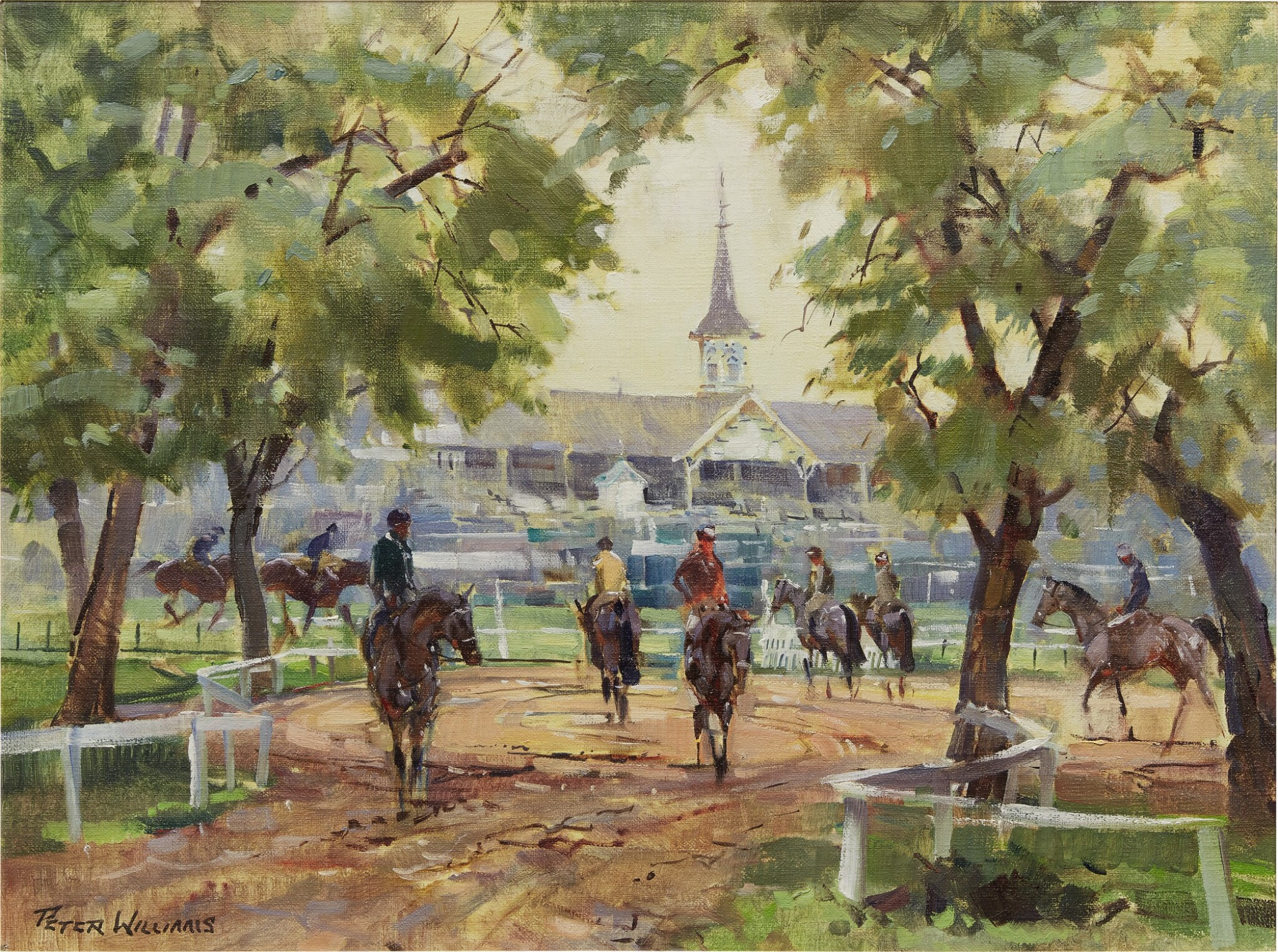 View full screen - View 1 of Lot 20. PETER WILLIAMS | CHURCHILL DOWNS.