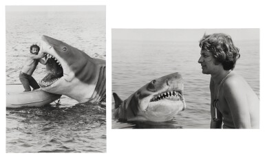 Jaws (1975) deluxe hand printed candid file photographs, US