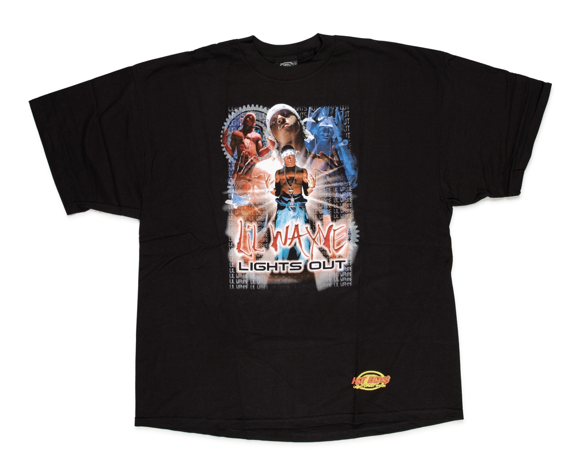 View full screen - View 1 of Lot 111. [PEN & PIXEL]   COLLECTION OF 10, NEVER-RELEASED OFFICIAL CASH MONEY T-SHIRTS, 2001.