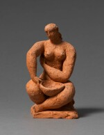 FRANK DOBSON, R.A. | BATHER, STUDY FOR TOILET