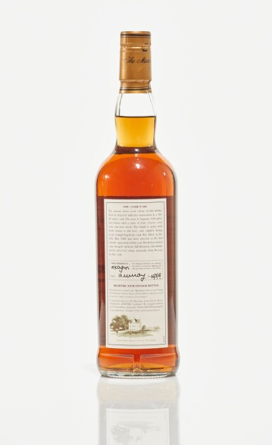 View 2. Thumbnail of Lot 11. The Macallan Fine & Rare 56 Year Old 51.6 abv 1945 (1 BT70cl).