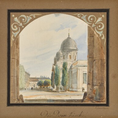 View 1. Thumbnail of Lot 52. Die Domkirche (The Cathedral).