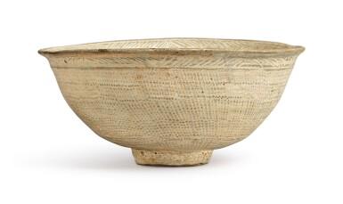 View 4. Thumbnail of Lot 1071.  A PUNCHONG WARE BOWL, KOREA, JOSEON DYNASTY, 15TH / 16TH CENTURY.
