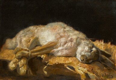 View 1. Thumbnail of Lot 37. VALENTIN ALEXANDROVICH SEROV | Still Life with Hare .