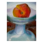 GEORGIA O'KEEFFE  | UNTITLED (APPLE AND WHITE DISH)
