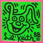 Keith Haring 凱斯・哈林 | Untitled (Lil Keith) 無題(小凱斯)