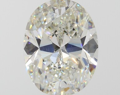 A 2.01 Carat Oval-Shaped Diamond, J Color, VVS1 Clarity