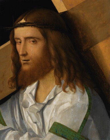 GIOVANNI BELLINI | Christ carrying the Cross | 喬瓦尼・貝利尼 | 《背負十字架的基督》