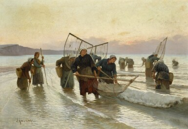 ALEXEI DANILOVICH KIVSHENKO | PRAWN FISHING IN NORMANDY