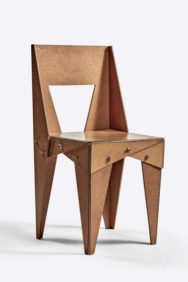 """View 1. Thumbnail of Lot 108. """"Wing-Nut"""" Chair."""