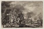 JAN VAN HUCHTENBURG | A battle scene