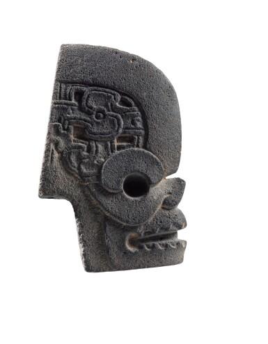 View 1. Thumbnail of Lot 7. Hache en pierre, Culture Veracruz, Côte du Golfe, Mexique, Classique, 550-950 AP. J.-C. | Hacha, Culture Veracruz, Côte du Golfe, Mexique, Classique, 550-950 AP. J.-C..