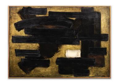 View 3. Thumbnail of Lot 106. Peinture 65 x 92 cm, 10 novembre 1952.