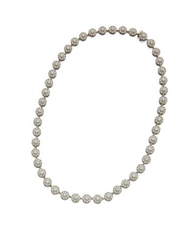 DIAMOND NECKLACE, TIFFANY & CO., FRANCE