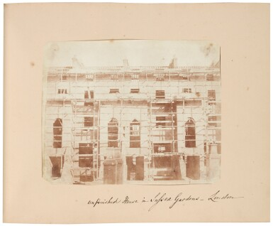 View 7. Thumbnail of Lot 11. William Henry Fox Talbot's Gifts to his Sister: Horatia Gaisford's Collection of Photographs and Ephemera.