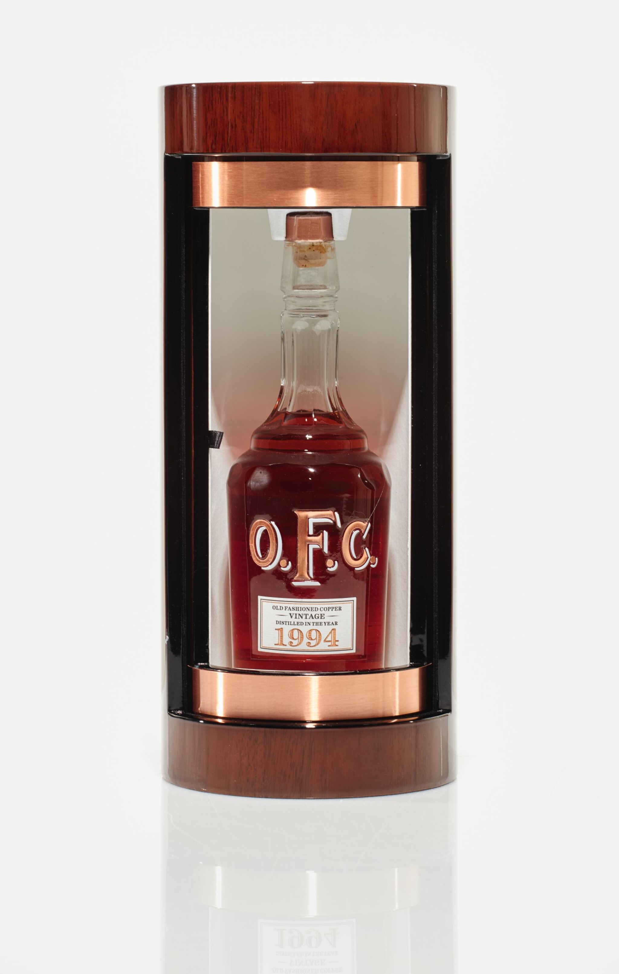 View full screen - View 1 of Lot 66. Old Fashion Copper OFC Bourbon 45.0 abv 1994 (1 BT75cl).