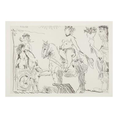 View 1. Thumbnail of Lot 169. PABLO PICASSO | LE COCU MAGNIFIQUE (B. 1244-1255; BA. 1432-1443; C. BKS 140).