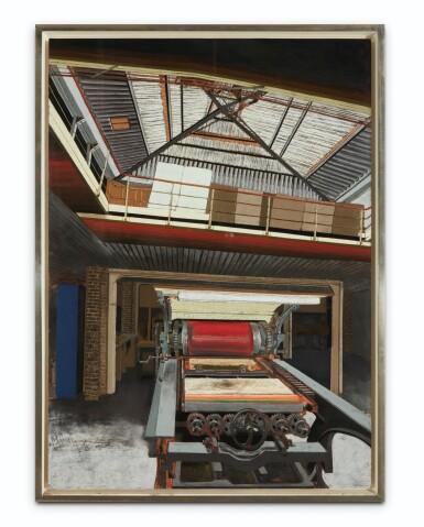 View 3. Thumbnail of Lot 116. L'Imprimerie (La Presse de l'atelier Bellini).