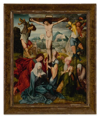 View 2. Thumbnail of Lot 557. The Crucifixion.