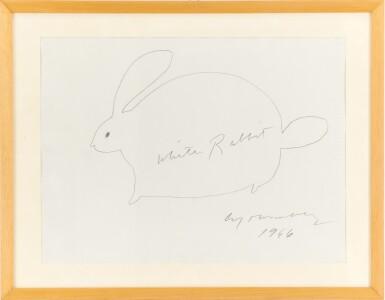 View 3. Thumbnail of Lot 61. White Rabbit.