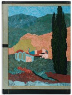 Schmied and Goulden. Salonique, la Macédoine, l'Athos. Paris, 1922, modern pictorial morocco