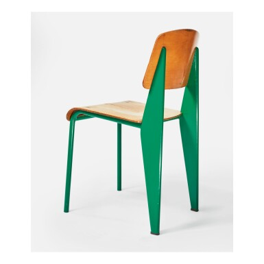 "JEAN PROUVÉ | ""STANDARD"" CHAIR, MODEL NO. 305"