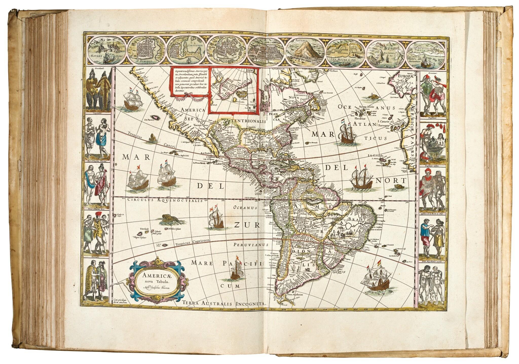 View full screen - View 1 of Lot 285. Blaeu. Theatrum Orbis Terrarum. 1640-1654.