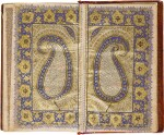 AN ILLUMINATED QUR'AN, COPIED BY MUHAMMAD HASAN, WITH A MARGINAL COMMENTARY, COPIED BY MUHAMMAD ISMA'IL, NORTH INDIA, KASHMIR, DATED 1246 AH/1831 AD