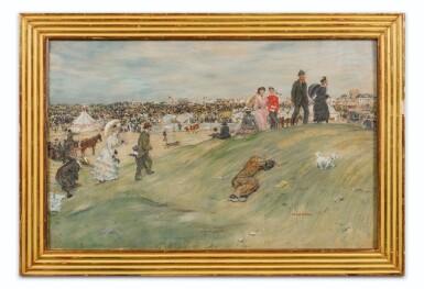 View 2. Thumbnail of Lot 2. Les courses à Jersey.