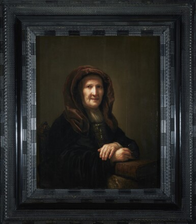 View 2. Thumbnail of Lot 266. PIETER VERELST | A TRONIE OF AN OLD WOMAN SEATED, HOLDING SPECTACLES IN HER RIGHT HAND.