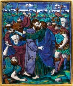 FRENCH, LIMOGES, MID-16TH CENTURY, ATTRIBUTED TO PIERRE REYMOND (ACTIVE BETWEEN 1537 AND 1578) | THE KISS OF JUDAS /THE ARREST OF JESUS